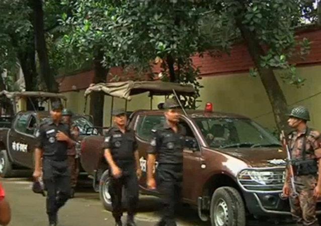 Crise de reféns em Dhaka