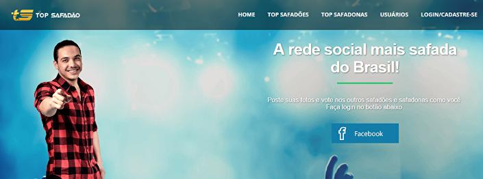 A rede social brasileira Top Safadão