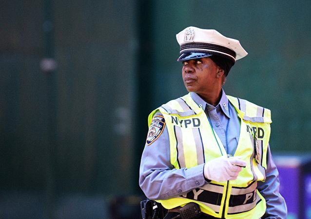 Policial em Nova York