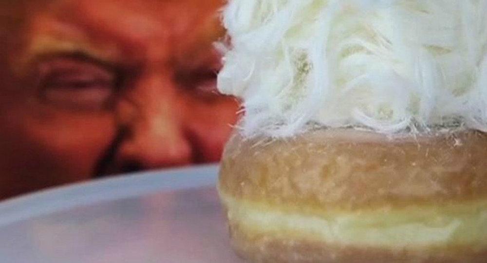 Donut inspirado por Donald Trump na Austrália