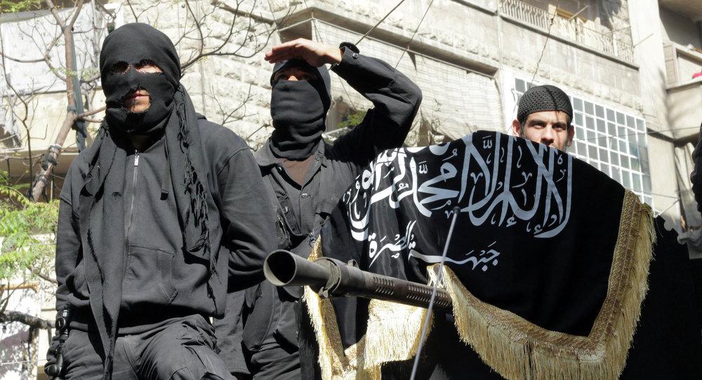 Membros do grupo jihadista conhecido como Frente al-Nusra