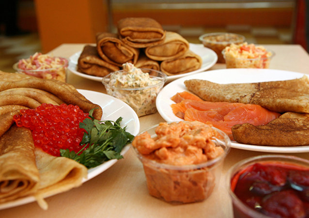 Que prato tradicional russo você gostaria?