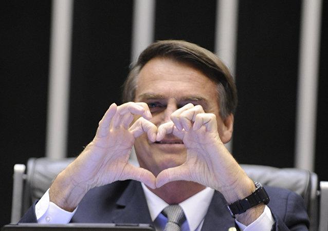 Jair Bolsonaro, candidato a presidente do Brasil nas eleições de 2018 pelo PSL (arquivo)
