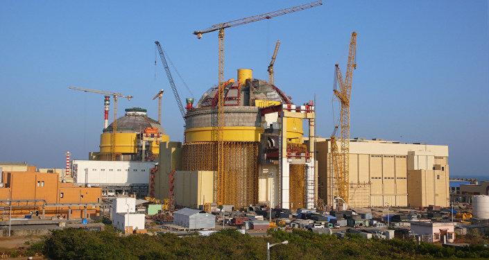 Usina nuclear de Kudankulam, na Índia