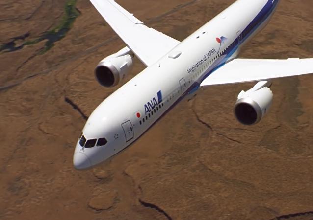 Dreamliner em ação: Boeing 787-9 Dreamliner decola verticalmente