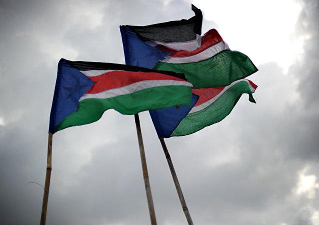 Bandeira nacional do Sudão do Sul