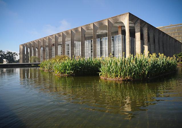 Palácio do Itamaraty, sede do Ministério das Relações Exteriores do Brasil (arquivo), localizado em Brasília
