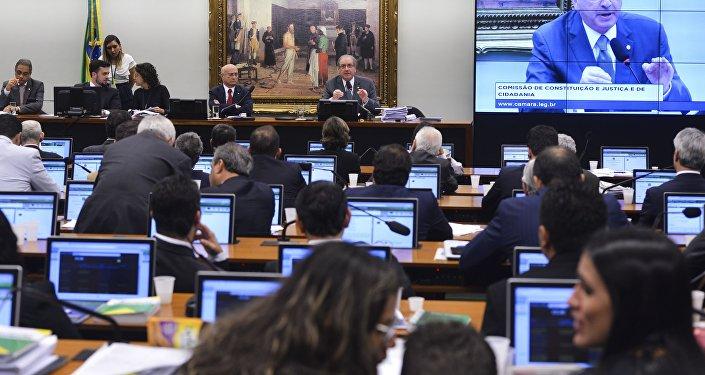 CCJ vota recurso de Cunha contra cassação
