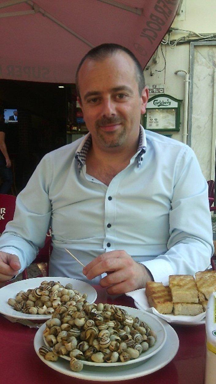 Sérgio Carqueja, técnico de informática em Portugal