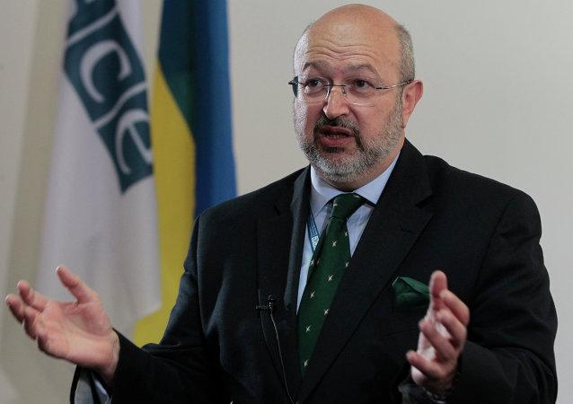 Secretário Geral da OSCE, Lamberto Zannier