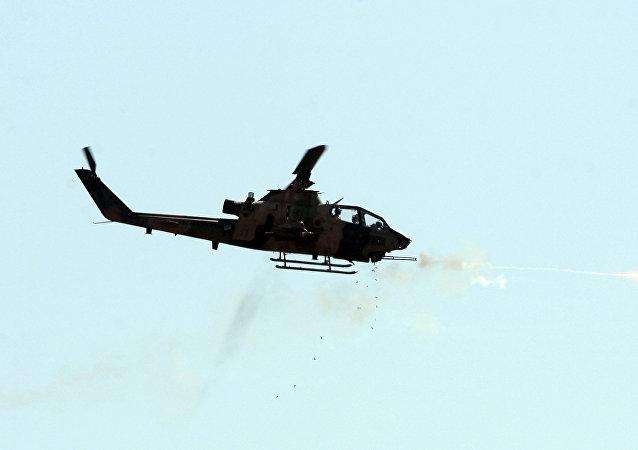 O helicóptero de combate turco Cobra (arquivo)