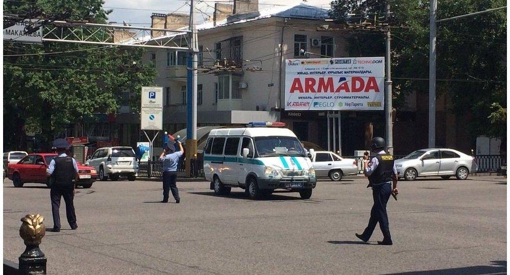 O ataque armado no centro da cidade de Almaty, antiga capital do Cazaquistão
