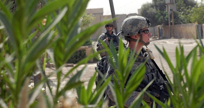 Militares dos EUA no Iraque