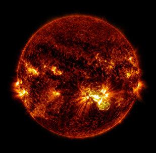 Imagem do Sol, NASA