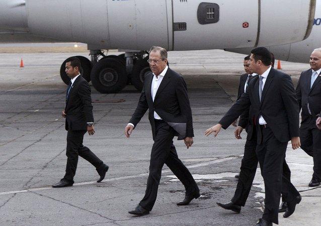 Serguéi Lavrov, ministro das relações exteriores da Rússia