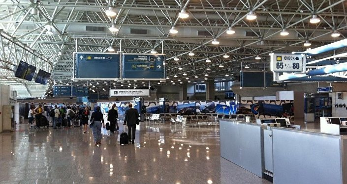 Aeroporto do Galeão no Rio de Janeiro