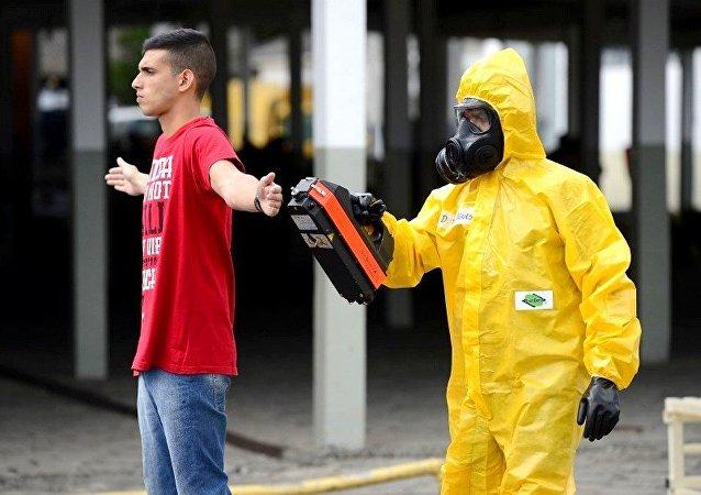 Preparação contra ataques químicos e nucleares para Rio 2016
