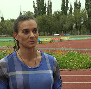 Isinbayeva comenta decisão do CAS