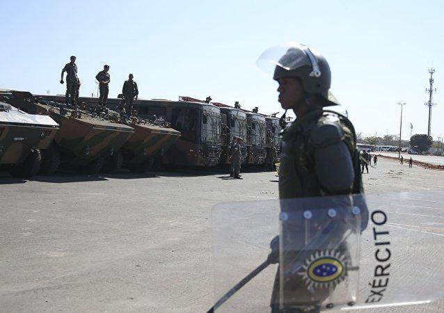 Exército Brasileiro atuará na segurança da Rio 2016