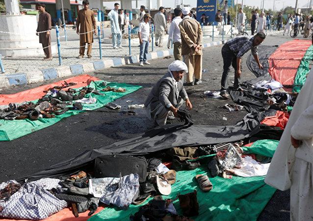 Atentado terrorista em Cabul, 23 de julho de 2016