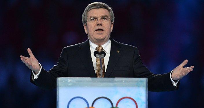 Presidente do COI sobre esporte russo