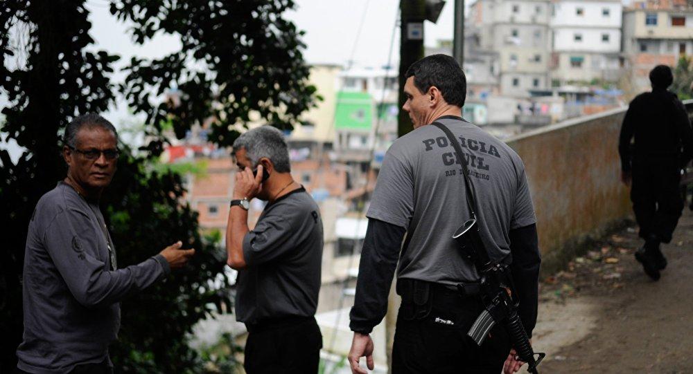 Policia Civil seuestro de neozelandes