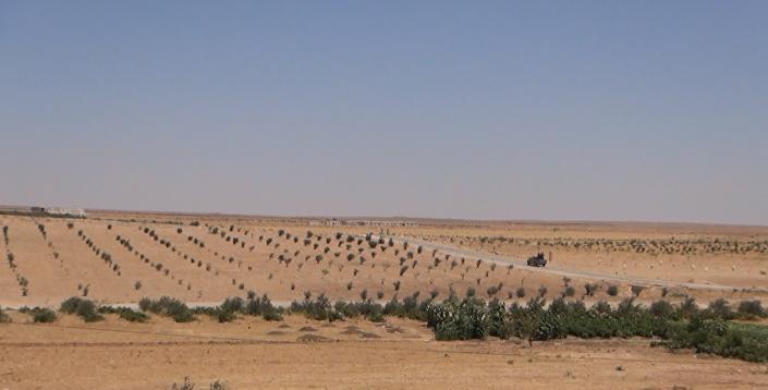 Região perto do povoado Al-Mufakker