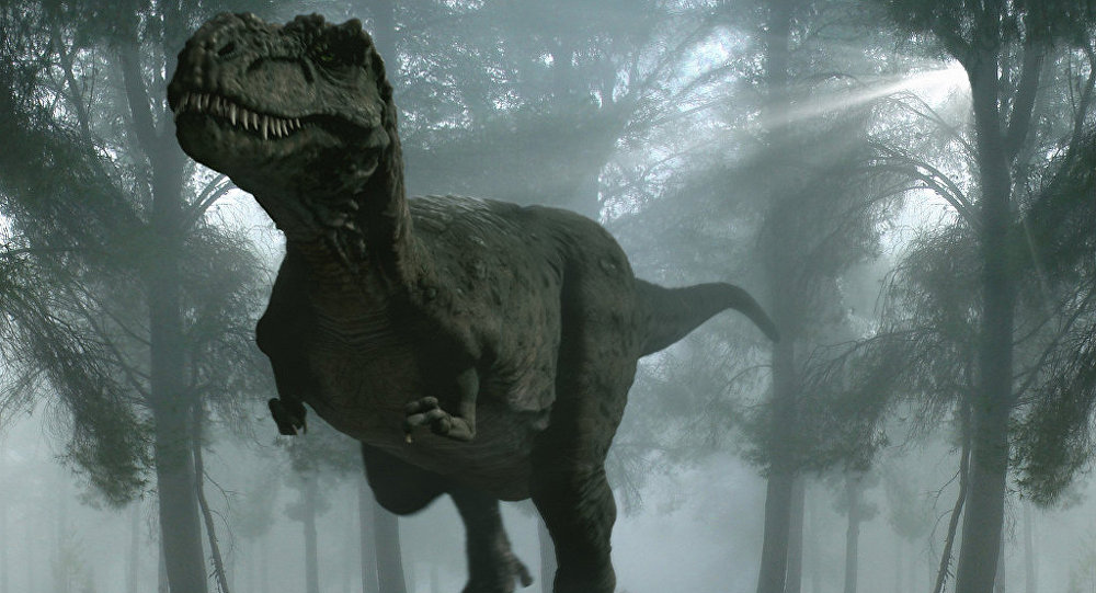 Um dinossauro