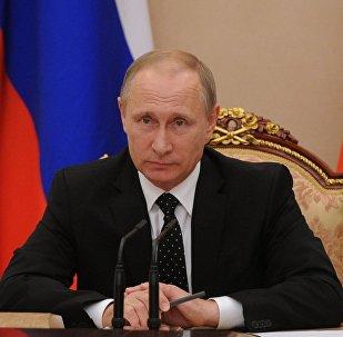 Presidente da Russia Vladimir Putin