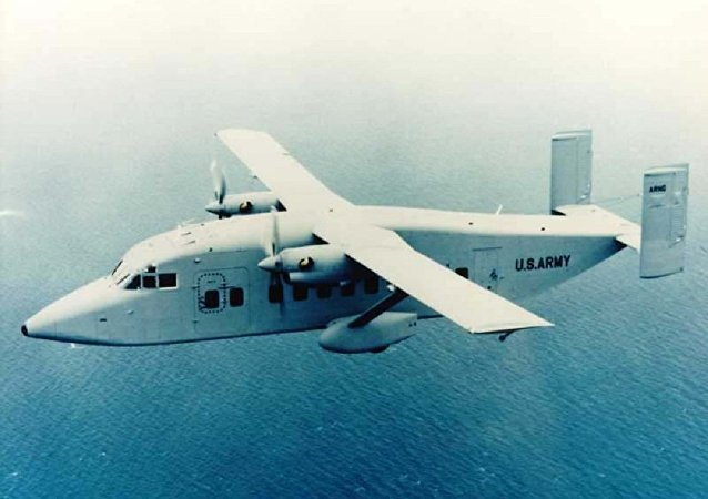 Avião Sherpa C-23B+
