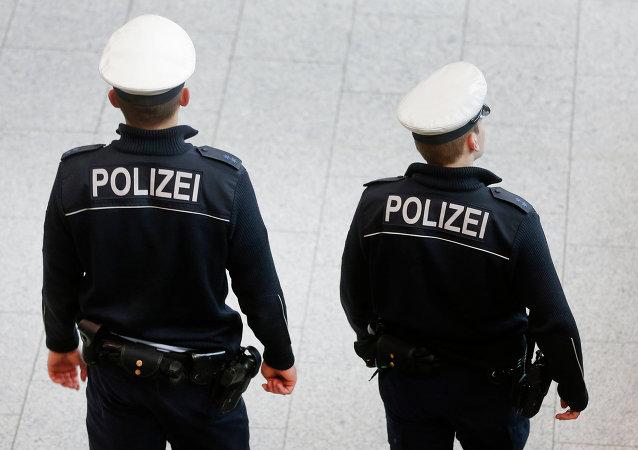 Policiais na Alemanha
