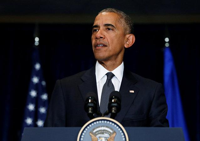 Discurso do atual presidente dos EUA Barack Obama