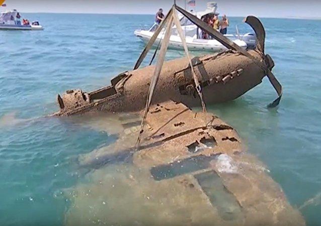 Avião desaparecido da Segunda Guerra Mundial