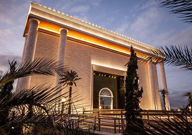 Templo de Salomão, sede mundial da Igreja Universal do Reino de Deus
