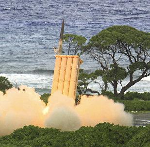 Sistema de defesa antiaérea THAAD
