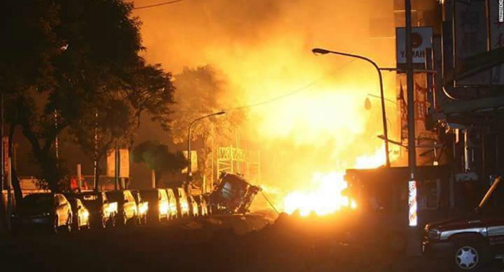 Explosão em Cabul teria sido provocada por caminhão-bomba
