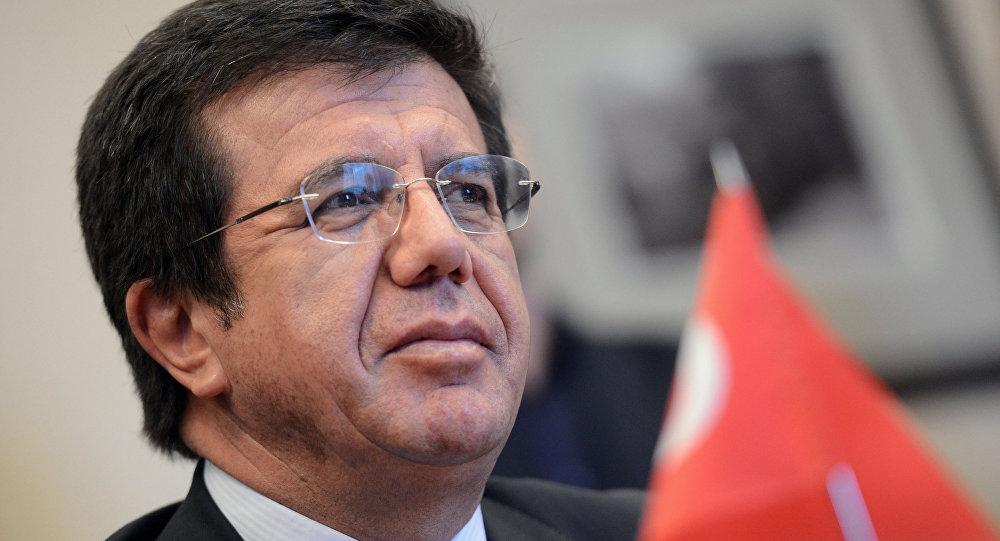 Nihat Zeybekci - o ministro da Economia da Turquia