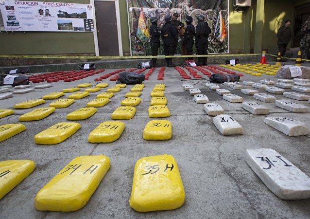 Cocaína em La Paz, Bolivia (arquivo)