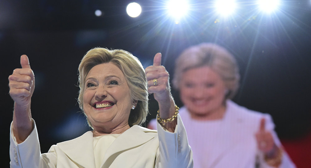 Hillary Clinton, pré-candidata democrata à presidência dos EUA