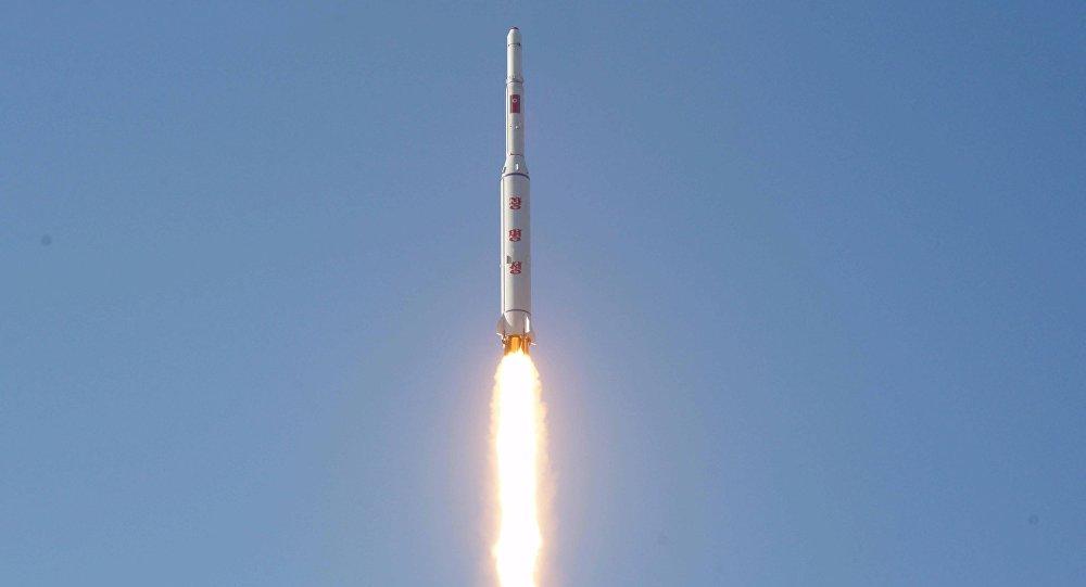 Míssil de longo alcance da Coreia do Norte