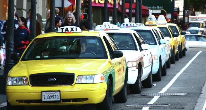 Um táxi