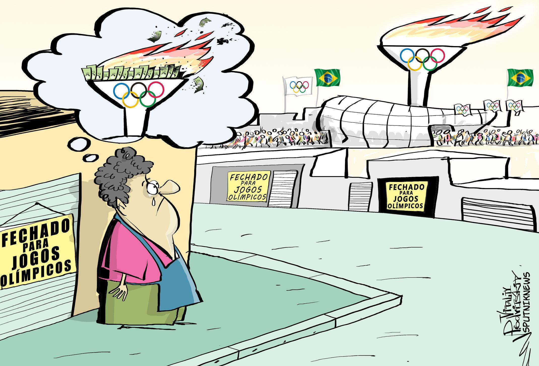 Feriados olímpicos causam prejuízos para setores da economia do Rio