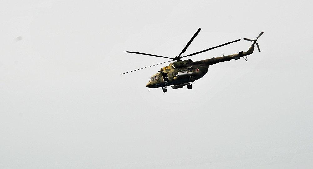 Helicóptero Mi-8 das Forças Armadas da Rússia