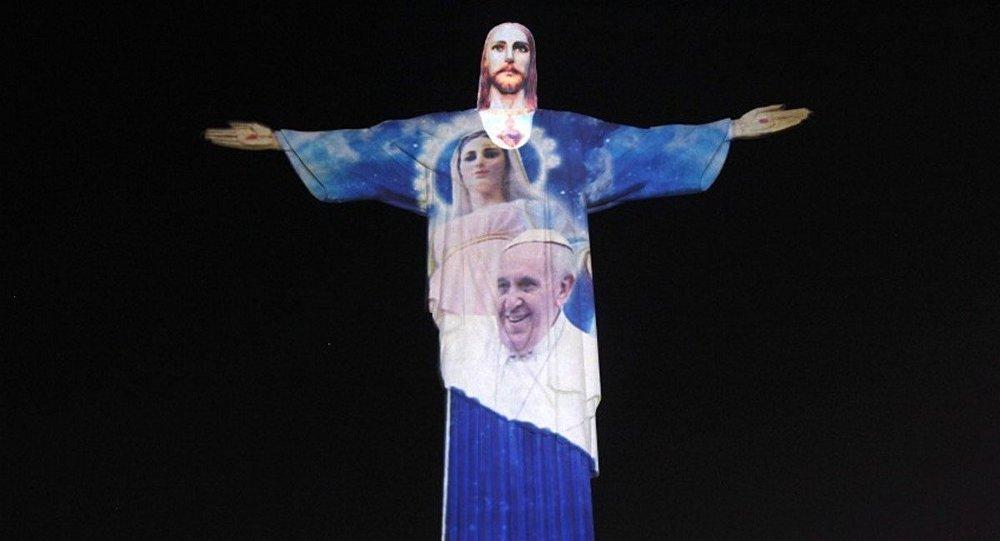 Papa Francisco manda felicitações para os brasileiros antes da abertura dos Jogos