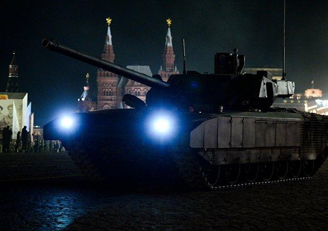 Tanque de guerra T-14 Armata
