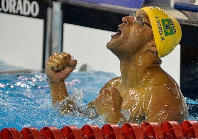 A delegação brasileira de natação conta com 18 atletas do Programa de Alto Rendimento do Ministério da Defesa
