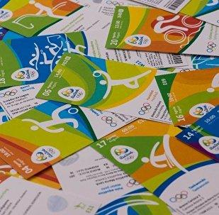 Ingressos dos Jogos Rio 2016