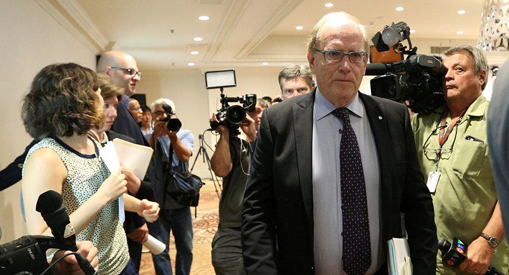 Richard McLaren, apontado pela WADA para liderar a investigação independente sobre o suposto programa de ocultação de testes de doping na Rússia