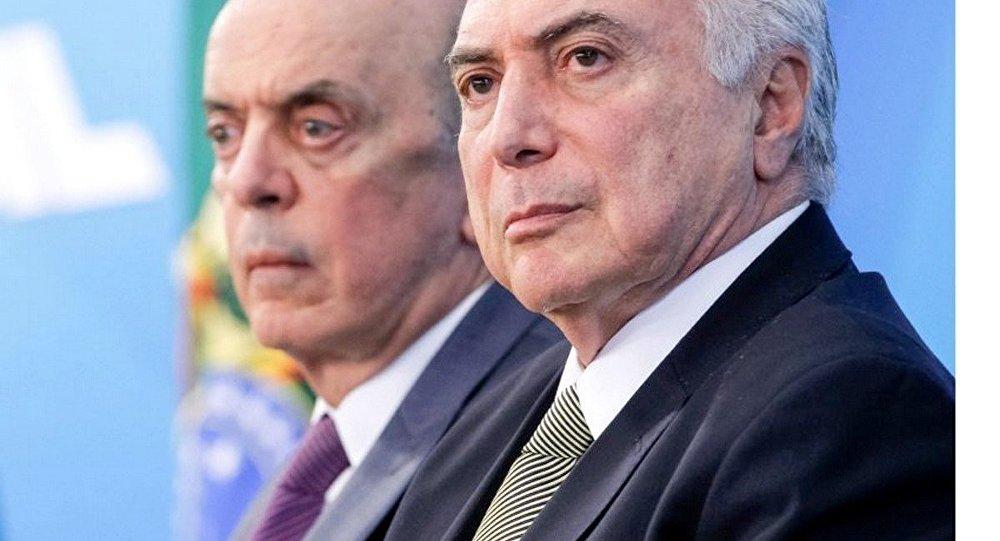 Resultado de imagem para José Serra pede demissão