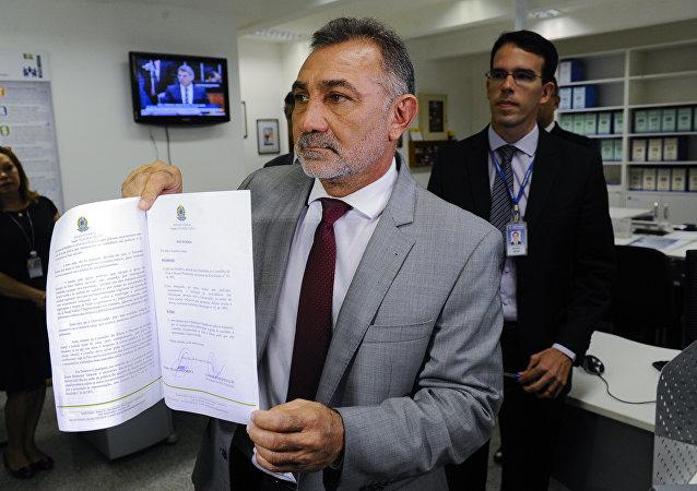 Senador Telmário Mota - PDT/RR